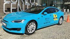 İstanbullu taksicilerden Uber'e karşı Tesla taksi