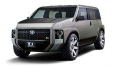 Toyota'dan SUV-Van karışımı ilginç araç: Tj Cruiser