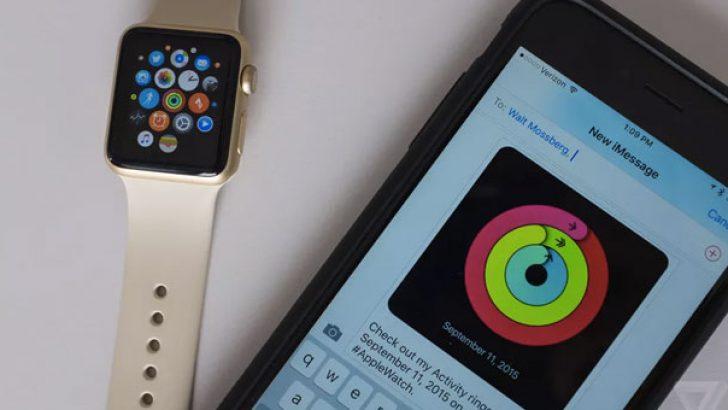 watchOS 2 artık Apple Watch'ta