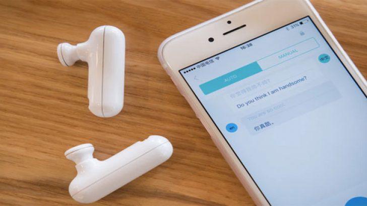Gerçek zamanlı çeviri yapabilen kablosuz kulaklık WT2