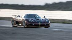 Koenigsegg Agera RS dünyanın en hızlı otomobili rekorunu kırdı