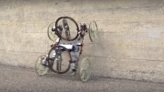 Disney duvarda gidebilen küçük robot araba tasarladı