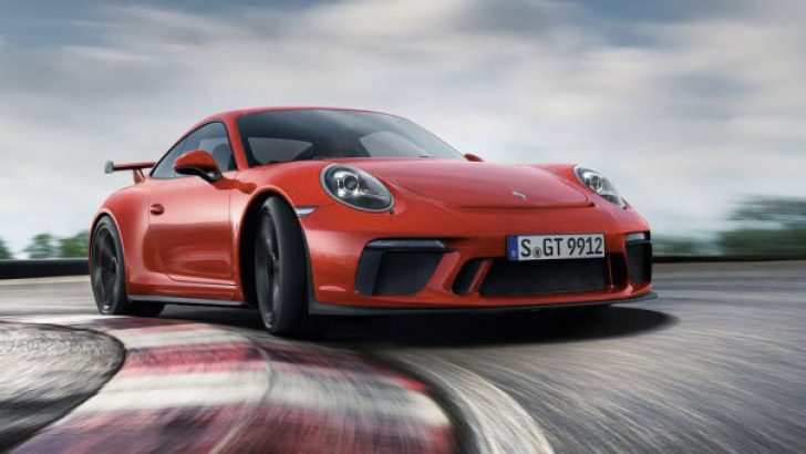 Yeni Porsche 911 GT3 Türkiye yollarında!