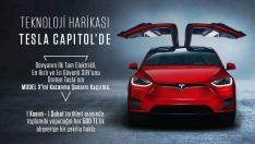 500 TL'ye sıfır Tesla Model X!