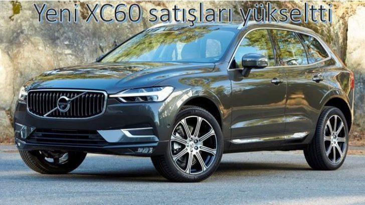 Volvo'nun satışları %8.6 büyüdü