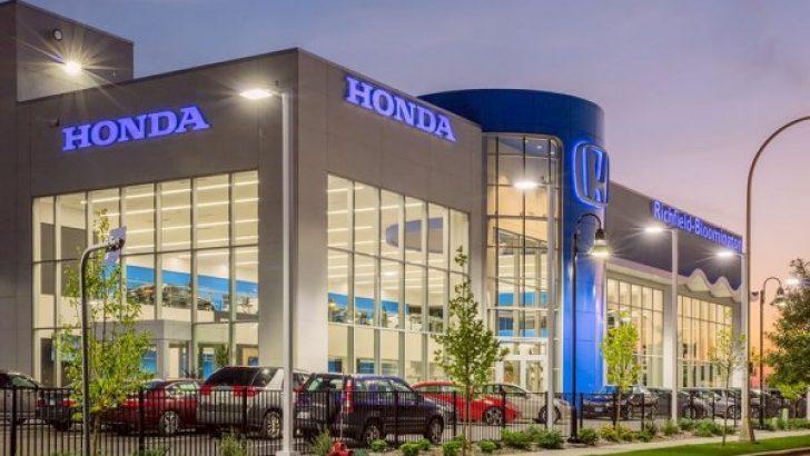 Honda 350 bin aracını geri çağırıyor
