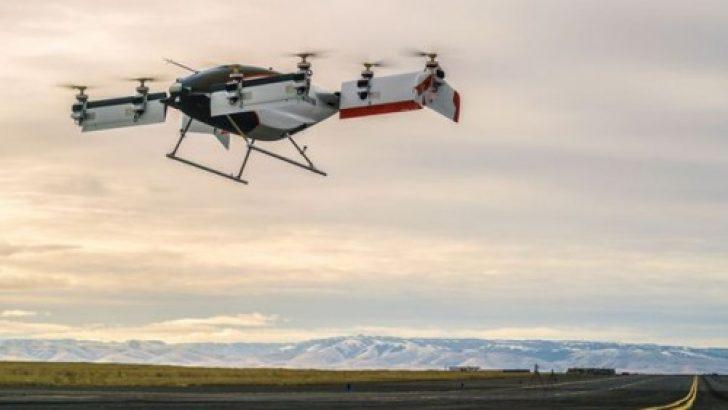 Airbus'un uçan taksisi Vahana ilk test uçuşunu yaptı