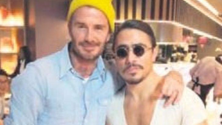 Beckham'dan salt bae