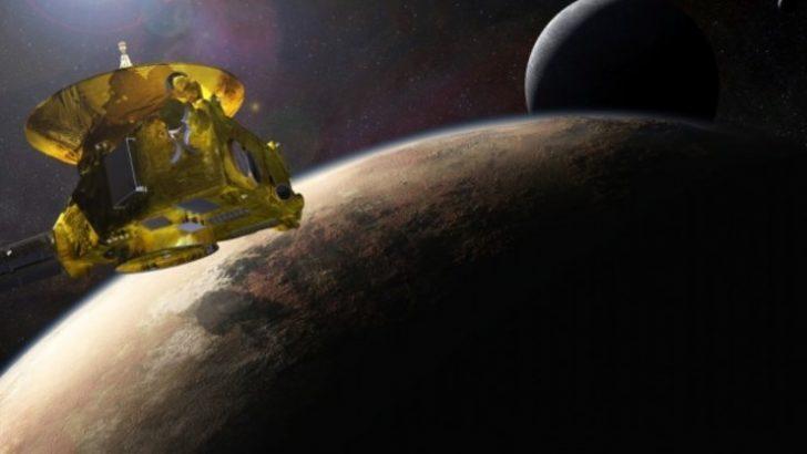 New Horizons, çektiği fotoğrafla tarihe geçti