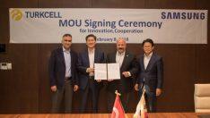 Turkcell ve Samsung  5G için güçlerini birleştirdi
