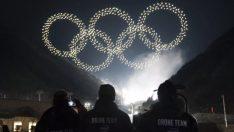 Intel, Kış Olimpiyatları'nda 1,218 drone ile rekor kırdı!