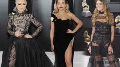 60. Grammy Ödülleri'nde şıklık yarışı!
