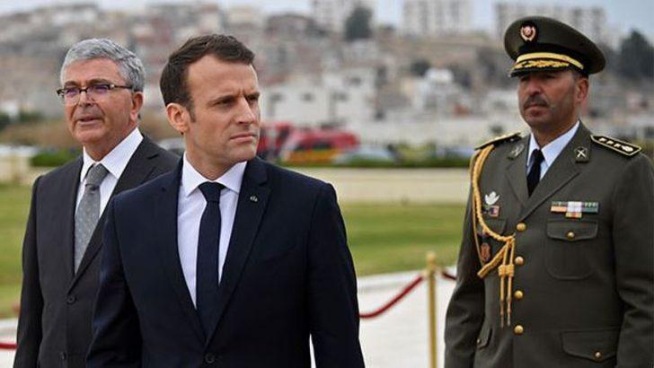 Macron'dan Mevlüt Çavuşoğlu'na yanıt