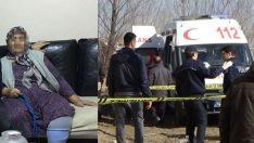 Iğdır'da bir yaşlı kadın 17 bıçak darbesiyle öldürüldü, tecavüz bulgusuna rastlandı