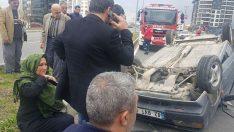 Balıkesir'de trafik kazası: 2 kişi yaralandı