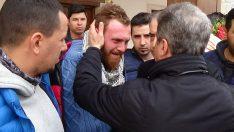 Mustafa Cengiz Aytaç Çalım'ın cenazesine katıldı