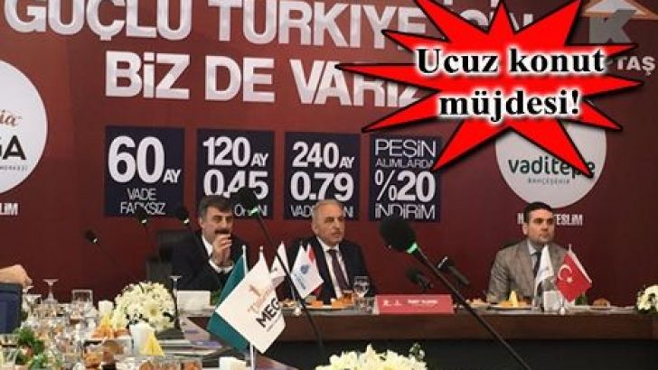 KİPTAŞ'tan Hadımköy ve Pendik'e memur konutları geliyor!