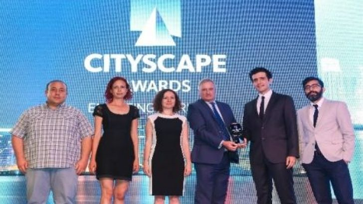 PAB Mimarlık'a Cityscape Awards 2016'dan ödül!
