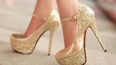İddialı kadın ayakkabılarından belli olur!