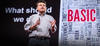 TED: Gelecekte iş olmadan nasıl para kazanacağız?
