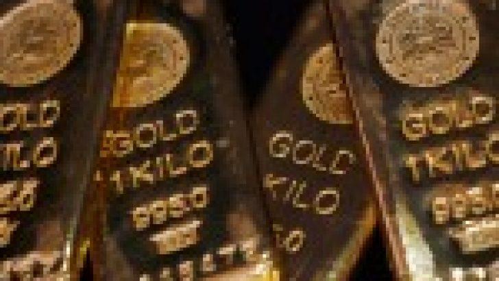 Altın Fiyatları 2,5 Haftanın Yükseklerinden Düşüyor