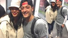 Mesut Özil'den 'Rihanna'lı poz!