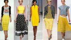 Siz de sarı seviyorsanız bu yıl çok moda!
