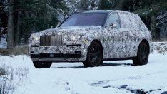 """Rolls-Royce'un SUV aracının adı """"Cullinan"""" oldu"""
