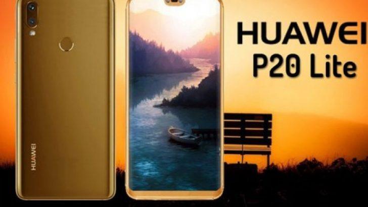 İşte mavi renkli Huawei P20 Lite!