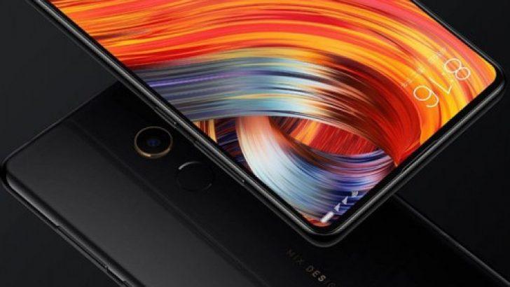 Xiaomi Mi Mix 2S'in resmi görseli