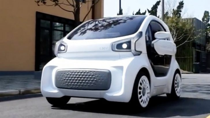 3D yazıcıdan ilk seri üretim otomobili