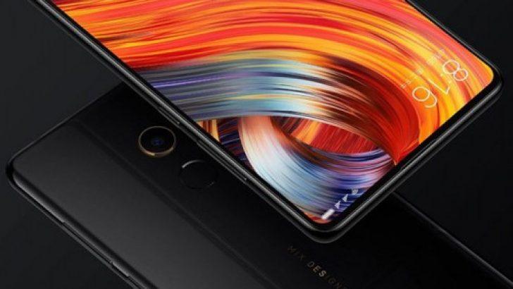 Çerçevesiz Xiaomi Mi MIX 2S'in ayrıntıları geldi!