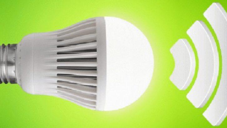 LiFi teknolojisi ile LED lambalardan internet paylaşımı başladı!