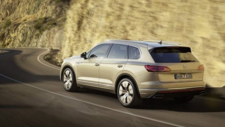 2019 VW Touareg ortaya çıktı