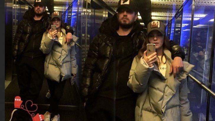 Aslı ile Murat'ın asansör selfie'si!