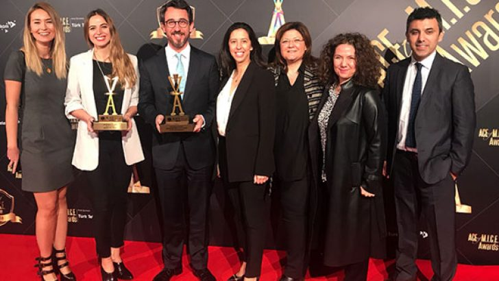 """ACE of M.I.C.E.'ten Mercedes-Benz Türk'e """"Jüri Özel Ödülü"""""""