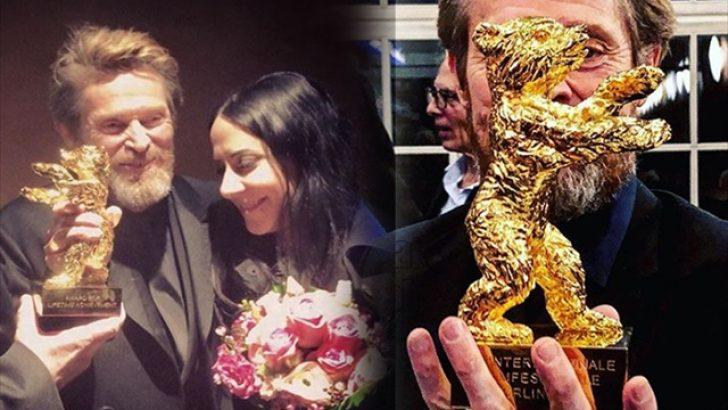 Willem Dafoe'ya 'Altın Ayı' ödülü!