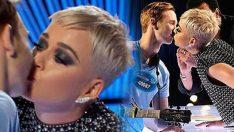 Katy Perry öptü, sosyal medya sallandı!