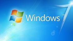 Windows 10 tekrar Windows 7'ye geçildi