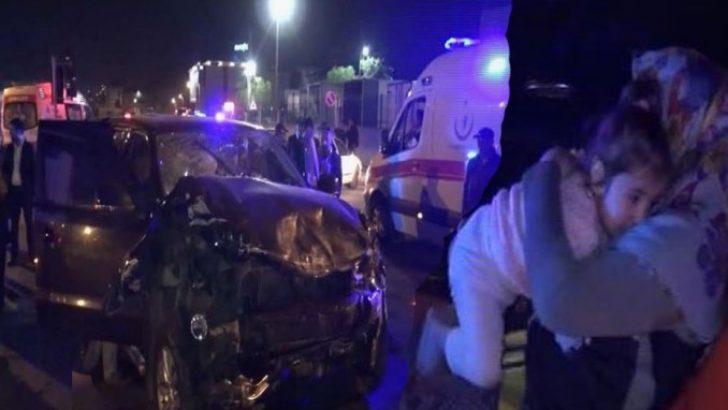 Sultanbeyli'de gece yarısı feci kaza: 9 yaralı