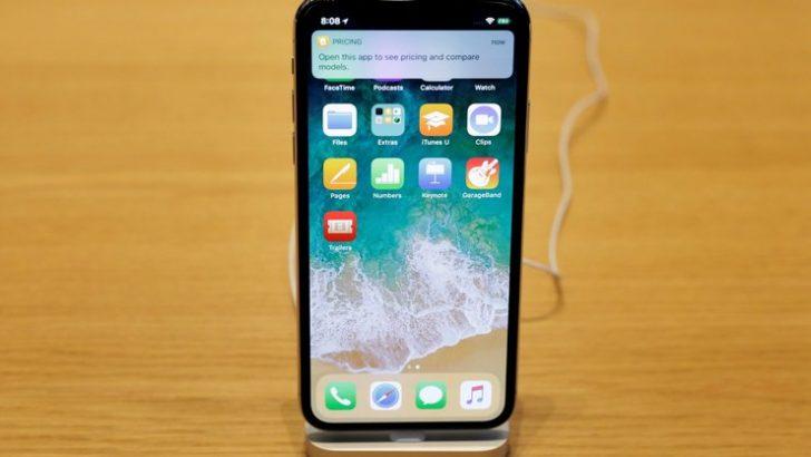2018 model iPhone X'in maliyeti düşük olacak