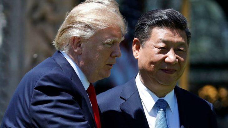Trump'tan Çin'e zeytin dalı