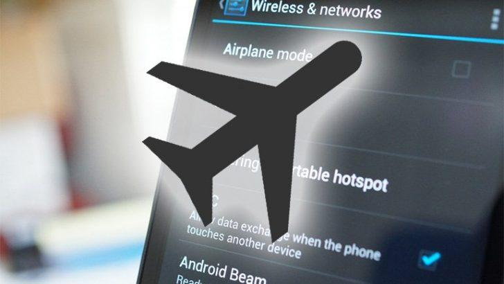 Android İçin Uçak Modu İpuçları!