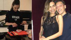 Amine Gülşe'den Özil'e özel yemek!