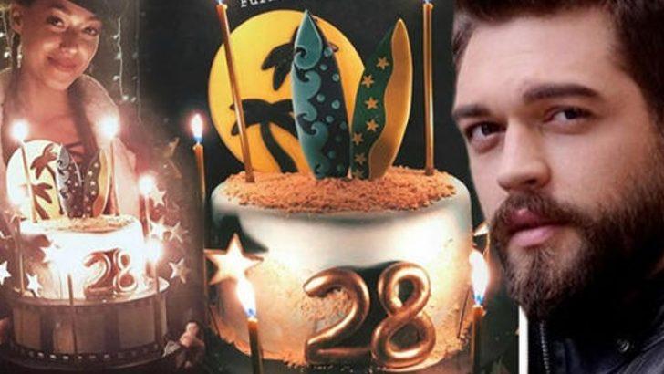 Sevgiliden özel kutlama! Furkan Andıç 28 yaşına bastı!