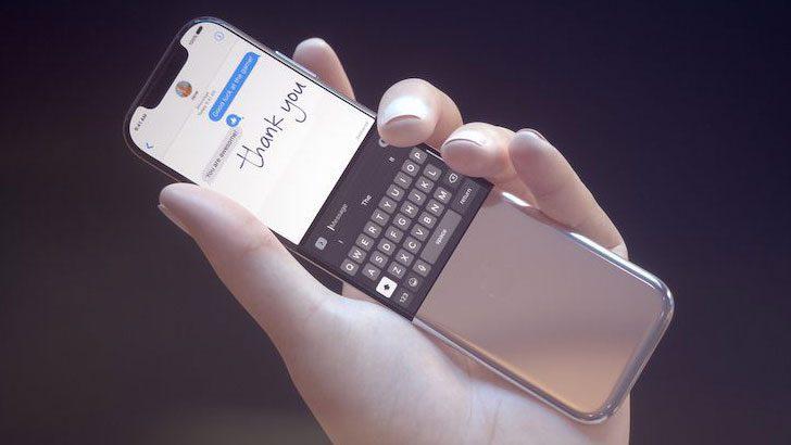 Kavisli iPhone için dikkat çekici tasarım