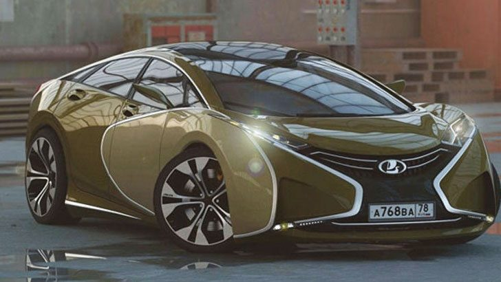 Lada Questa'nın Bugatti'ye benzeyen tasarımı şaşırttı