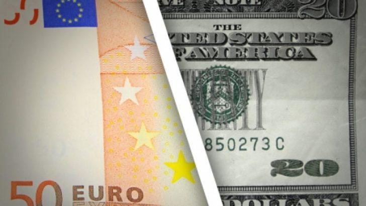 Euro, Dolar karşısında 2 haftanın en düşük seviyesine geriledi