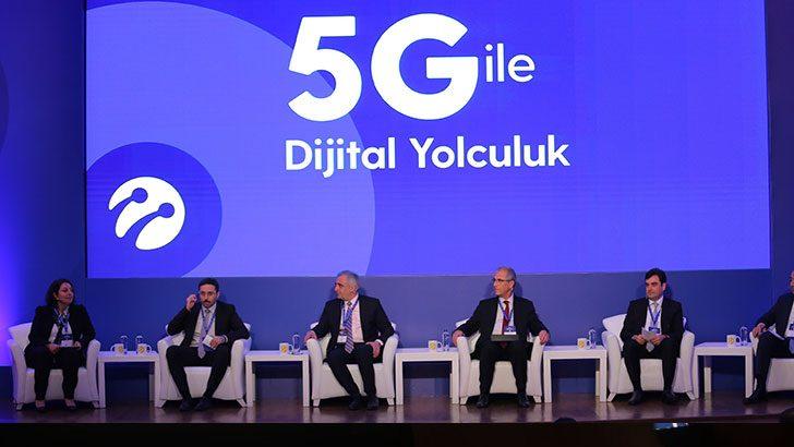 Turkcell 5G Zirvesi'nde Türkiye'nin önündeki fırsatlar masaya yatırıldı