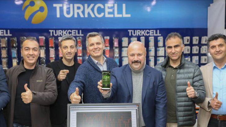 Turkcell Mardin'de 1 gigabit hızın üstüne çıktı